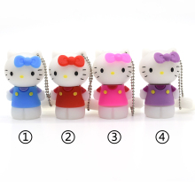 cartoon hello kitty usb flash drive 32gb cat 64gB pen drive pendrive 4gb u disk 8gb 16gb flash card Memory stick Gift for girl