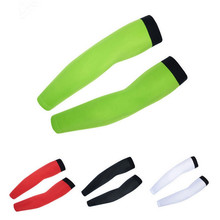 White black Arm Warmers Cuff Men women MTB Car Moto UV Sun Protection bicycle Oversleeve Sleeves Arm Cover Bike Wear(China)