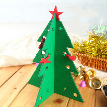 Christmas Supplies Felt Christmas Tree Christmas Gifts Christmas Decorations Restaurant Tables(China)