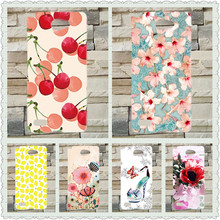 Newest Popular Case For LG Max X155 / Bello 2 II Brilliant Painting Cover Lovely 10 Colored Design case cover For LG max x155
