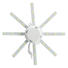 LED Ceiling Lamp Octopus Light 12W 16W 20W 24W LED Light Board 220V Energy Saving LED Lamp Lighting With Transformer And Magnet(China)