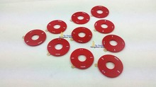 10pcs U2 Speical Edtion Red Clickwheel Plastic Cover Case Shell Adhesive Glue for iPod 5th Gen Video 30GB 60GB 80GB