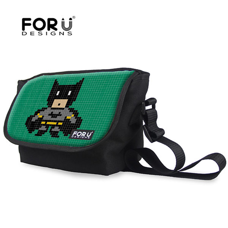 2016 New Style Children Messenger Bags Marvel DC Super Heroes Series Kids Shoulder Bags for Boys Cartoon Cross Body Bags(China)