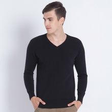 High Qaulity Man's Sweater 100% Cashmere Pullovers 2017 New Brand V-neck long-sleeve Jumpers Men Warm soft Knitting Clothes