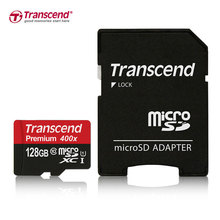 Transcend Sealed Real 128GB MicroSD MicroSDXC 128GB Class10 UHS-1 TF Memory Card 60MB/S Contains Adapter