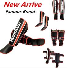 PRETORIAN MMA BOXING Shin Guards kick boxing protector Sanda taekwondo boxing Leggings Ankle protection for Muay thai shin pads(China)