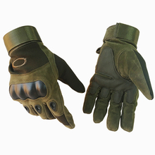 Buy Outdoor Tactical Gloves Military Army Hiking Cycling Airsoft Anti-skid Armor Protection Shell Full Finger Gloves Mens for $5.09 in AliExpress store