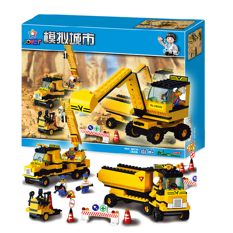 B9700 City Heavy Engineering building bricks blocks Toys Model Boy Game Game Set Truck Compatible with Decool Lepin Bela<br><br>Aliexpress