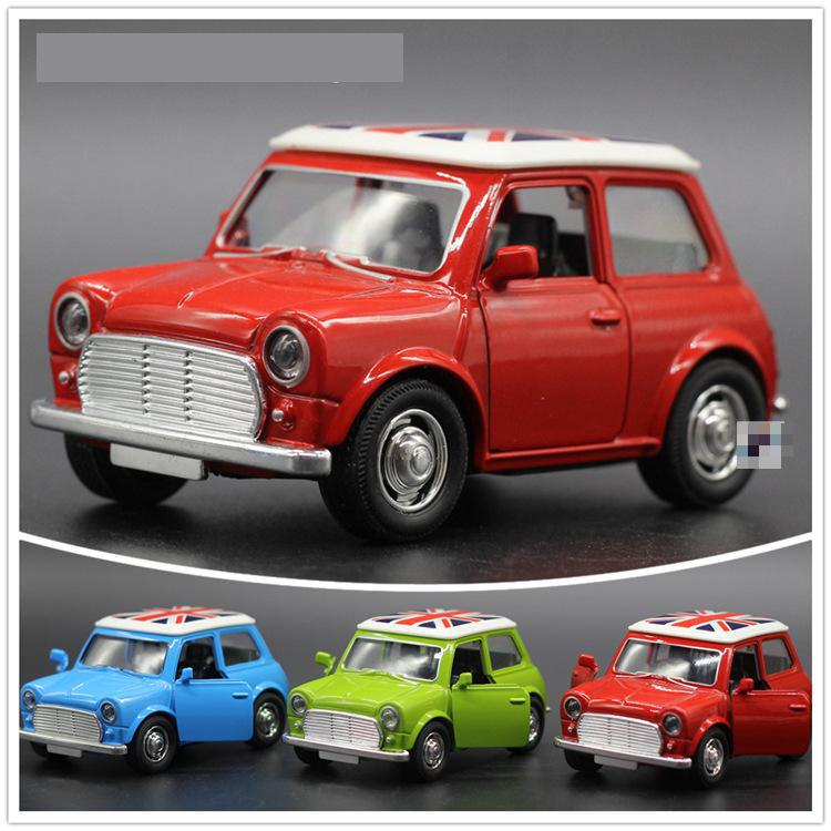 1:36 Diecast Cars Mini Metal Model Car Alloy City Vehicles Toy Brinquedos 1/36 Cooper Model Car Kids Dinky Toys Children