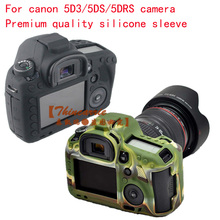 High Quality SLR Camera Bag for Canon EOS 5D Mark III Lightweight Camera Bag Case Cover for 5D3/5DS/5DR black/Camouflage
