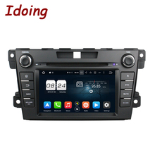 Idoing 2 Din Steering Wheel Android 6.0 Fit Mazda CX 7 Car DVD Player 8 Core 2G+32G GPS Navigation Touch Screen Video WiFi OBD2
