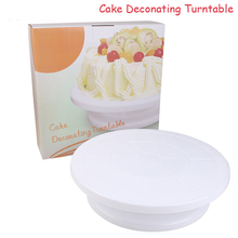 Practical Cake Decorating Tools Cake Stand Sugarcraft Turntable Decorating Stand Platform Cupcake Stand