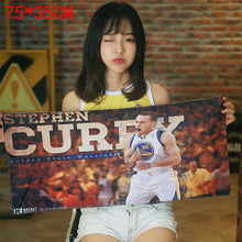 NBA basketball star Golden State Warriors Curry sports gym leisure tide brand basketball football towel bath towel