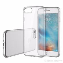 For Iphone 7 Phone Case 6S Plus Clear TPU 0.3MM Ultra Thin Samsung Galaxy Note 7 ON5 Back Cover Soft Case Cover