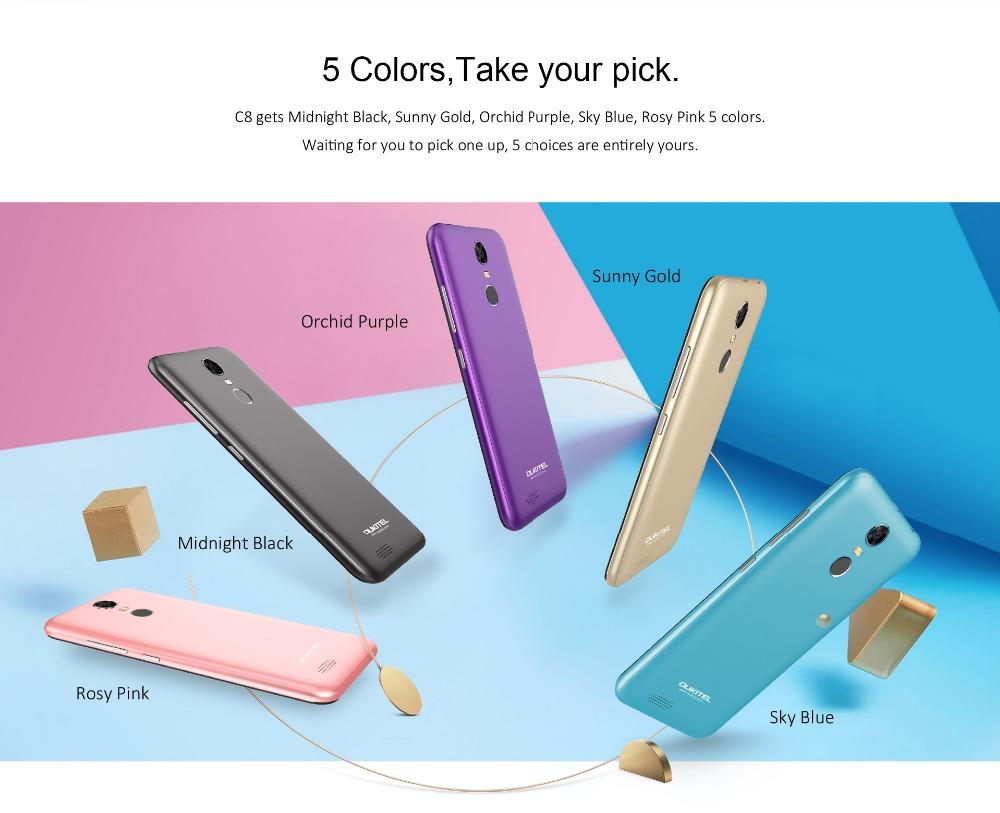 oukitel c8 Smartphone (9)