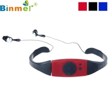 Factory Price Binmer New Hot Selling Good Quality Fashion 4G 4GB Waterproof MP3 Music Player for Swimming SPA Drop Shipping(China)