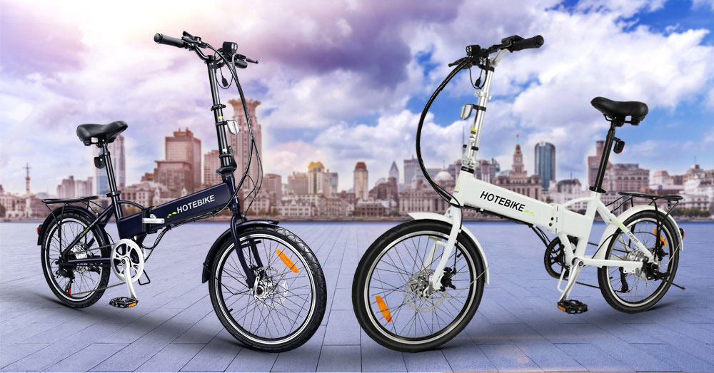 Discount free shipping 20 inch aluminum alloy frame best folding electric bike 0