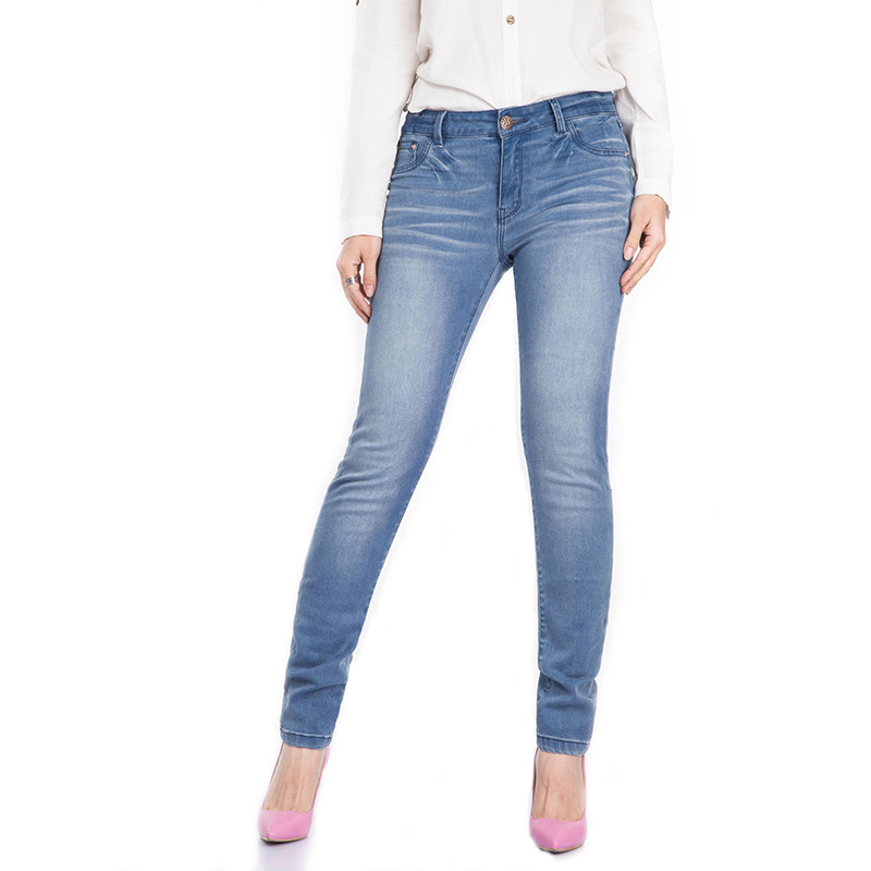 Jeans for women Jeans With Mid High Waist Jeans Woman High Elastic Large size Women Jeans Femme Casual Skinny Pencil PantsОдежда и ак�е��уары<br><br><br>Aliexpress