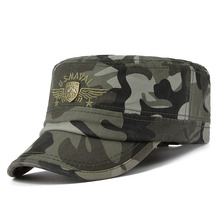 2017New Men Baseball Caps Chapeau Homme Snapback Caps Adult Camo Adjustable Army Cap Peaked Cap Flat Top Hats(China)