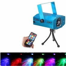 Remote control Blue Mini Lazer Pointer Projector light DJ Disco Laser Stage Lighting for Xmas Party Show Club Bar Pub Wedding
