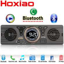 Car Radio MP3 Player Audio Stereo Support FM Bluetooth USB SD AUX Built-in 2 speaker 1 din Auto Audio Player Car Electronics(China)