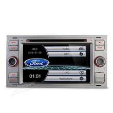 "XTRONS 7"" Radio 2 din Car DVD Player GPS Navigation For Ford Galaxy Transit 2006-2008 / Kuga 2008-2012/Connect 2007-2009/Transit(China)"