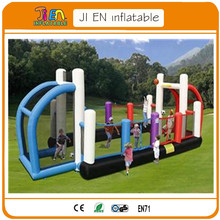 giant  inflatable american football rugby  field pitch,all-in-one sports arena inflatable sports games