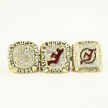 3Pcs/Lot NHL 1995 2000 2003 NEW JERSEY DEVILS STANLEY CUP CHAMPIONSHIP RING FOR FANS