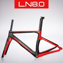 2017 carbon road bike frame carbon fibre road cycling race bicycle frameset taiwan bike LEADNOVO AERO ROAD bike frame(China)