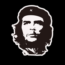 Che Guevara Pattern Motorcycle Car Sticker For opel renault toyota mazda car-styling car-covers Stickers For lada kia rio golf 4