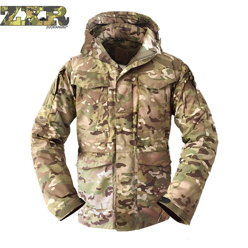 Outdoor Climbing Hiking Hunting Camping Combat Military Camouflage Army Training Male Jackets Men Update Tactical Jackets