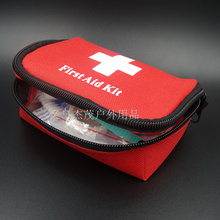 Hot Sell 12 Pcs/Set  Emergency Kit Survival First Aid Kit Pack Travel and Family Medical Bag  Car Mini First Aid Kit bag