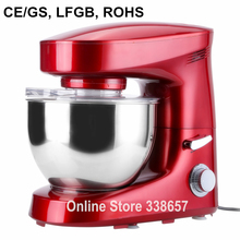 Electric 6L chef home kitchen cooking stand food cake egg dough bread mixer machine 220V 1200W