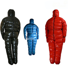LT600-4000 Goose down 1500g Filling Ultra-light body down jacket outdoor adult breathable thickening winter sleeping bag(China)