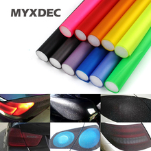 10m/Roll x30Cm Auto Smoke Fog Light Car Flash point HeadLight Taillight Sticker Vinyl Film Sheet Car Decoration Styling(China)