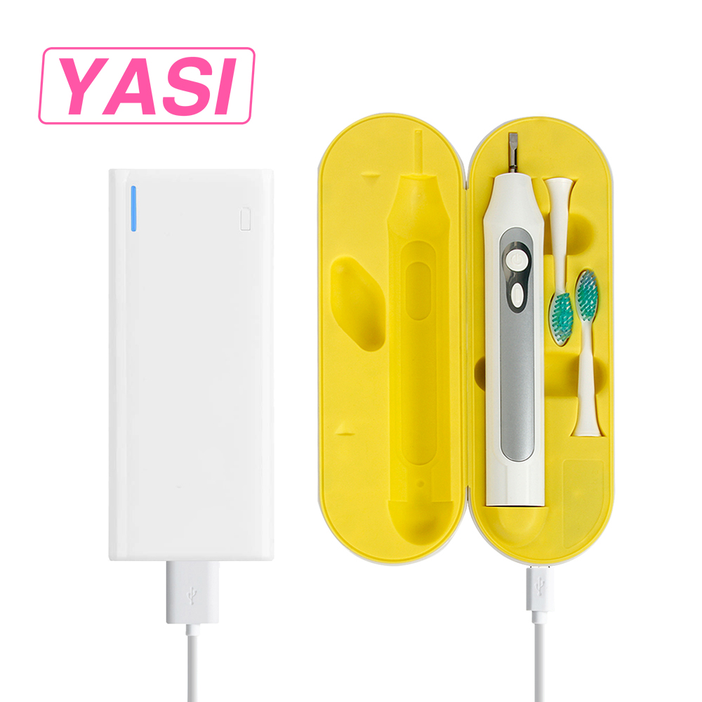 YASI Portable USB Charge Ultrasonic Electric Toothbrush Adults Battery Electrical Toothbrushes Businessman Oral Hygiene 5 Types<br>