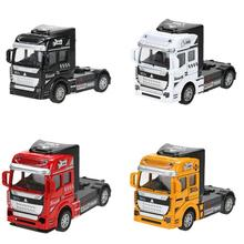 New Arrival 1:32 Diecast Model Cars Alloy Truck Toys 1/32 Metal Model Car Dinky Toys For Kids City Vehicle Brinquedos