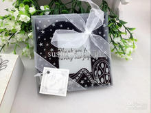 "240pcs=120sets ""Love of Camera Memories"" Glass Photo Frame/Place Card Holder Coasters Wedding Favor"