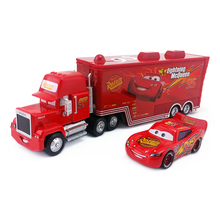 Disney Pixar Cars No.95 Mack Racer's Truck & Radiator Spring Metal Diecast Toy Car 1:55 Loose Brand New In Stock & Free Shipping(China)