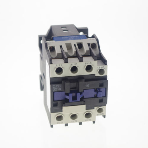 AC Contactor Motor Starter Relay (LC1) CJX2-3210 3P+NO 220/230V Coil 32A 7.5KW<br>