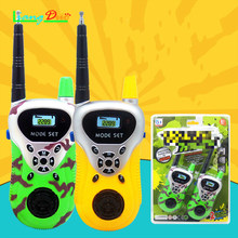 2018 Children Wire Walkie Talkie Frequency UHF Cable Walkie Talkie Outdoor Games Boys Girls Parent-Child Interaction Toys