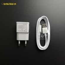 2 pcs/Lot micro usb cable + 5V 2A Charger Travel Adapter Data Compatible For HTC LG Sony Samsung LG HUAWEI XIAOMI Android phone(China)