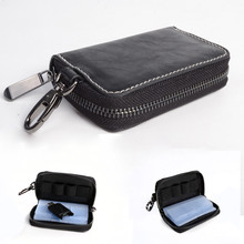 Portable 24 Slots SD Memory Card Case Holder Pouch Zippered Storage Bag for SD /SDHC /MMC /XD /Sony Memory Stick Pro Duo