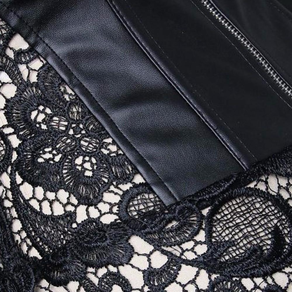 Steampunk Gothic Women's Plus Size Bustier Steel Boned Corset