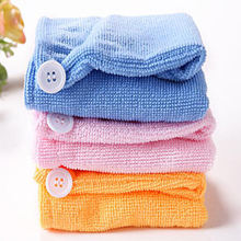 New Hot Sale Quick-Drying Microfiber Towel Hair Magic Drying Headscarf Hat Cap Spa Bath