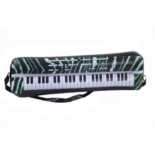 2Pcs PVC Inflatable Keyboard Piano Instrument Toy Fun Party Music Toy Children Kids Black&White Birthday Gift