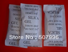 Free shipping 30 packs 10 Gram cotton Packets Of Silica Gel Desiccant