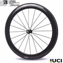 2017 Yuan'an wheelsets 25mm width 60mm depth tubular carbon road bike wheels with pillar 1432 spoke DT SWISS 240s Hub(China)