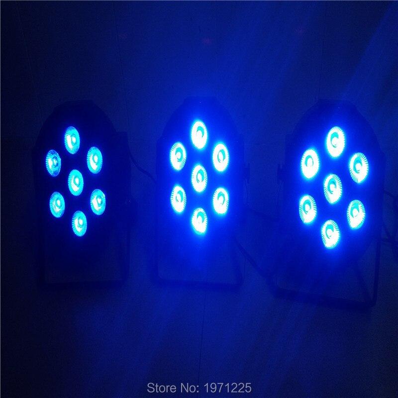 (8pcs) American DJ LED Flat Par SlimPar No Noise 7x9W RGB 3IN1 7Channels<br><br>Aliexpress