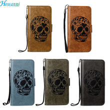 Buy Howanni Skull Leather Case Apple iPhone 7 Plus Case Flip 5.5 Inch Wallet Stand Cover iPhone 7 Plus Cover Capa for $5.98 in AliExpress store